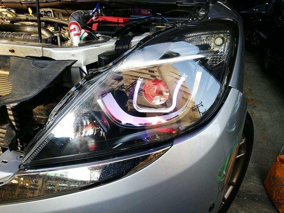 đèn pha nguyên bộ xe mazda BT-50