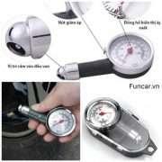 Đồng hồ cơ đo lốp ô tô