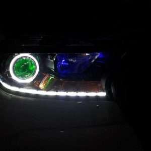 độ đèn xe ranger