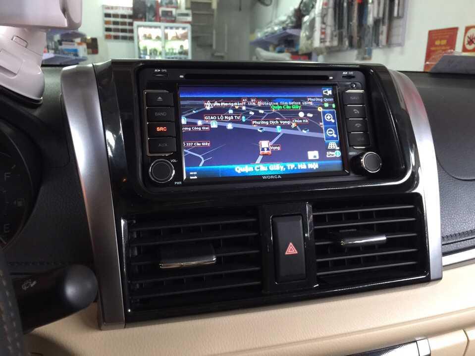 màn hình dvd ô tô theo xe vios