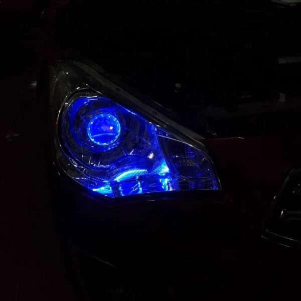 Độ đèn bi xenon xe Attrage