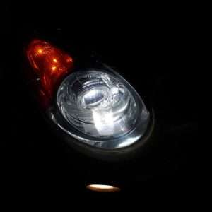 độ đèn bi xenon kia morning