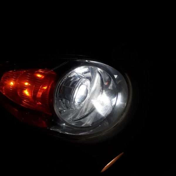 độ đèn bi xenon kia morning 2010
