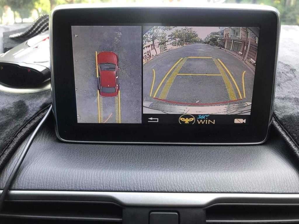 cameraa 360 độ cho ô tô