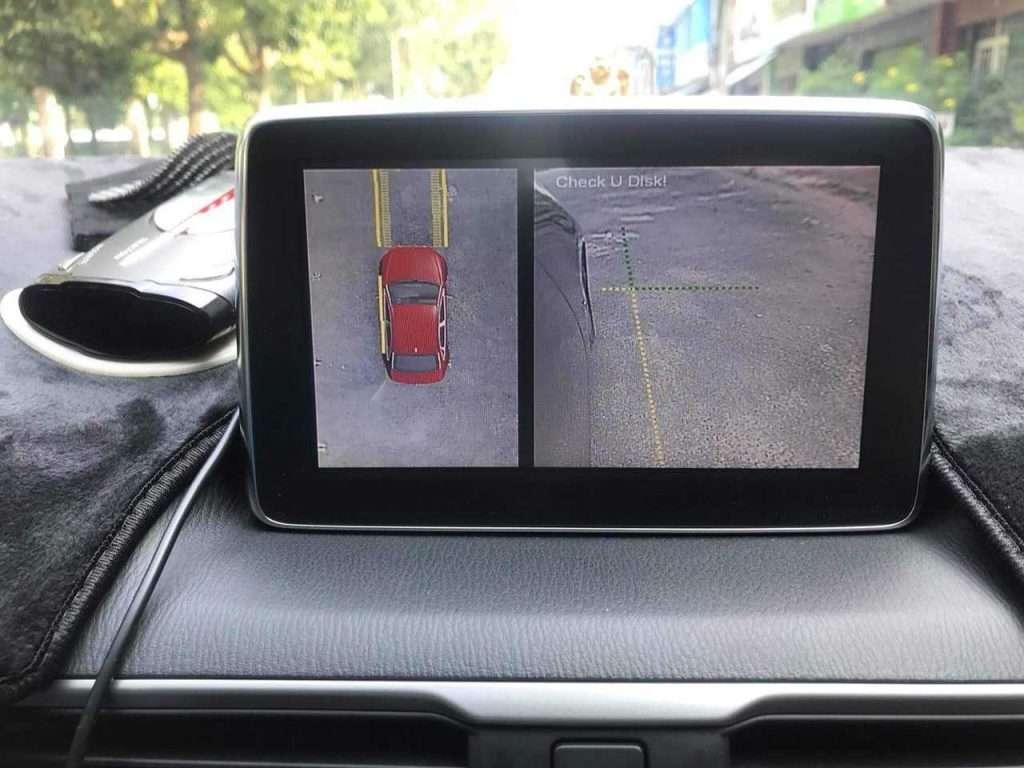 Camera 360 độ quan sát toàn cảnh cho ô tô