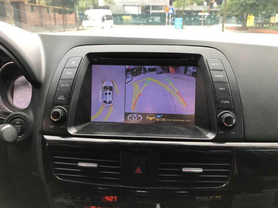 camera 360 độ Owin lắp cho xe mazda 6
