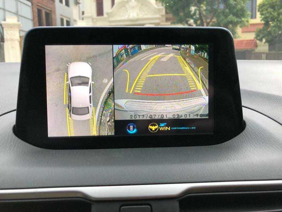 camera 360 độ owin lắp cho xe mazda 3