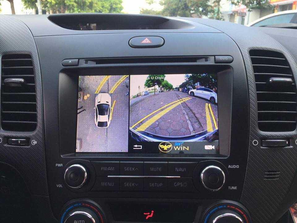 Camera Owin 360 độ lắp cho xe Cerato