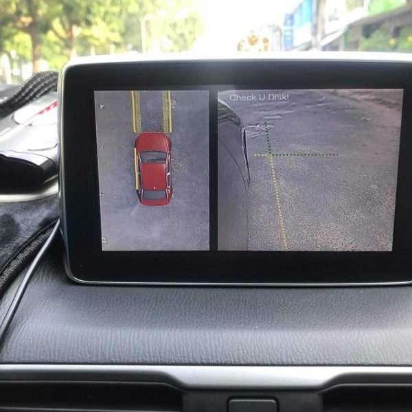 camera owin 360 độ lắp cho xe mazda cx5