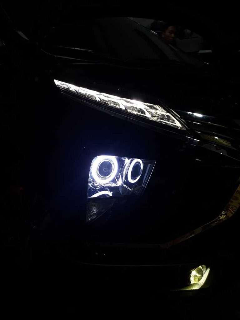độ đèn tăng sáng xe xpander