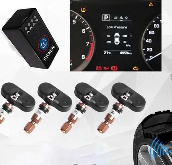 đo áp suất lốp xe accent