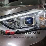 Độ đèn Xe Hyundai Santafe 2013 – 2015