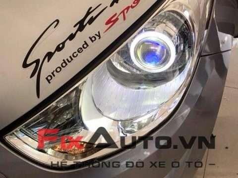 độ đèn xe Hyundai Tucson